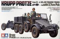 Krupp Protze with 3.7. CM Pak 1/35 Tamiya