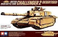 Challenger 2 Desertised Main Battle Tank 1/35 Tamiya