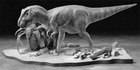 Tyrannosaurus Diorama 1/35 Tamiya
