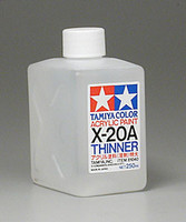 X-20a Thinner Big Jug 250ml Tamiya