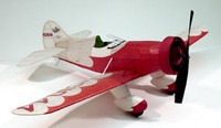 Gee Bee Model E Wooden Model Airplane Dumas
