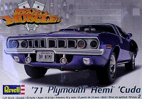 1971 Hemi 'Cuda Hardtop Model Kit 1/24 Revell Monogram
