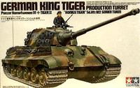 King Tiger with Production Turret 1/35 Tamiya
