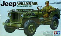 Jeep Willys MB. 1-4ton 4x4 1/35 Tamiya