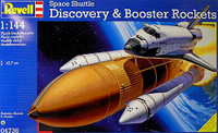 Space Shuttle Discovery with Boosters 1/144  Revell Germany