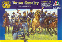 Union Cavalry Figures 1/72 Italeri
