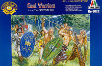 Gaul Warriors Figures 1/72 Italeri