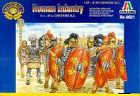 Roman Infantry 1st-2nd Century BC Figures 1/72 Italeri