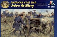 American Civil War Union Artillery Figures 1/72 Italeri