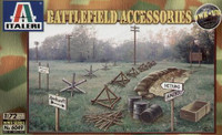 Battlefield Accessories 1/72 Italeri