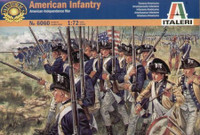 Revolutionary War American Infantry 48 1/72 Italeri