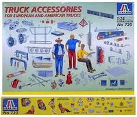 Truck Accessories 1/24 Italeri