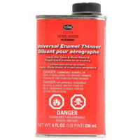 Thinner 8oz Metal can Testors