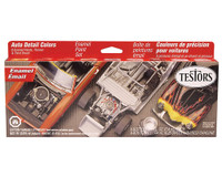 Auto Detail Colors Paint Set Testors