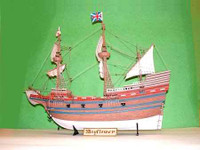 Mayflower Sailing Ship 1/60 Trumpeter