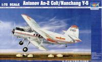 Antonov AN2 Colt Biplane 1/72 Model Kit Trumpeter
