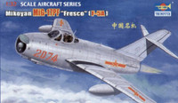 Shenyang F-5A/Mig-17PF Single-Seat Chinese Fighter 1/32 Trumpeter