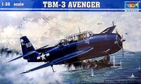 TBM-3 Avenger USS Shamrock Bay 1/32 Trumpeter