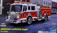 2002 American LaFrance Eagle Fire Pumper Truck 1/25 Trumpeter