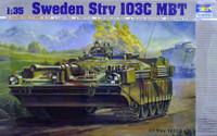 Swedish S-Tank Strv 103 C 1/35 Trumpeter