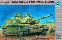 Challenger II Basra Iraq 2003 1/35 Trumpeter