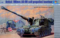 British 155mm AS-90 Self Propelled Howitzer 1/35 Trumpeter