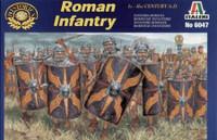 Cesars War Roman Infantry Figures 1/72 Italeri