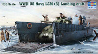 LCM 3 US Navy  Landing Craft WWII 1/35 Trumpeter