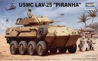 LAV-25 Piranha Light Armored Vehicle 1/35 Trumpeter
