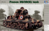 French 35-38 h Tank Small Barrel 37mm 1/35 Trumpeter
