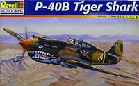 P-40B Tiger Shark 1/48 Revell Monogram