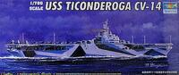 USS Ticonderoga CV-14 1/700 Trumpeter