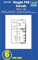 F4U Corsair 6 Pack 1/350 Trumpeter