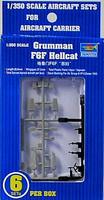 F6F Hellcat 6 pack 1/350 Trumpeter