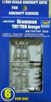 TBF-TBM Avenger 6 Pack 1/350 Trumpeter