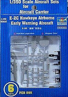 E-2C Hawkeye Aircraft Set for USS Nimitz 6-Box 1/350 Trumpeter