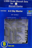 A3-D Skywarrior Aircraft Set for USS Nimitz 6-Box 1/350 Trumpeter