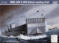 LCM-3 US Navy Landing Craft 1/72 Trumpeter