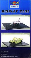 12.5L x 10.8W x 5.34H Showcase w/Black Base for 1/18 Autos, 1/48 Planes & 1/35 Tanks Trumpeter