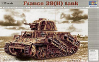 French 39H Tank w-37mm SA38 L-33 Long Barreled Gun 1/35 Trumpeter