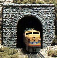 Random Stone HO Single Tunnel Portal Woodland Scenics