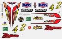 Magnum Dry Transfer Decals Pinecar
