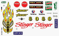 Stinger Dry Transfer Decals Pinecar