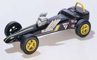 Slingshot Dragster Deluxe Kit Pinecar