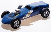 Turbo Funnycar Deluxe Kit Pinecar