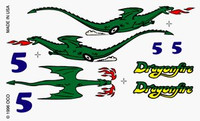Dragonfire Dry Transfer Decals Pinecar