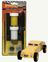 Cosmic Yellow Complete Paint System Pinecar