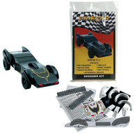 BatCar Designer Kits Pinecar