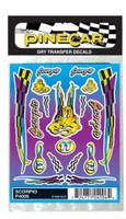 Scorpio Dry Transfer Pinecar