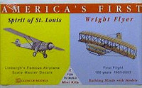 Wright Flyer-Spirit of St. Louis Mini Glencoe